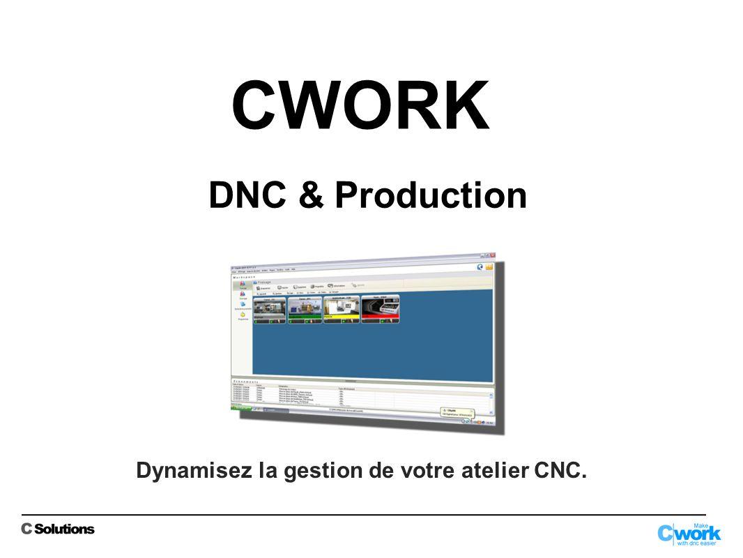 Dynamisez la gestion de votre atelier CNC.