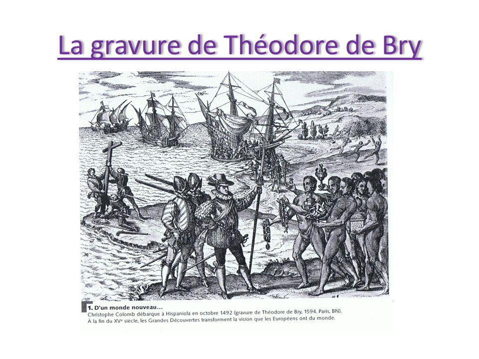 La gravure de Théodore de Bry