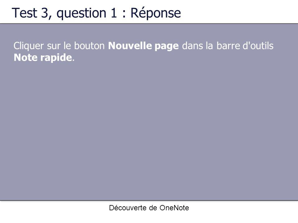 Test 3, question 1 : Réponse