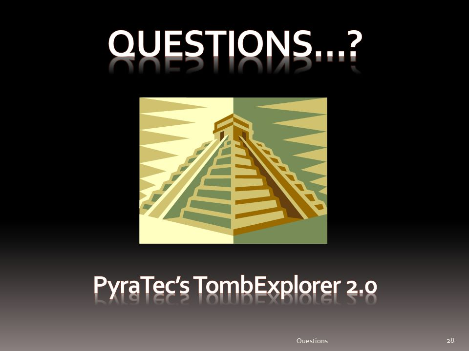 Pyratec's TombExplorer 2.0