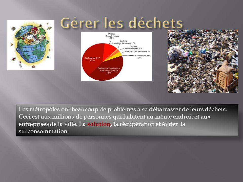 Gérer les déchets
