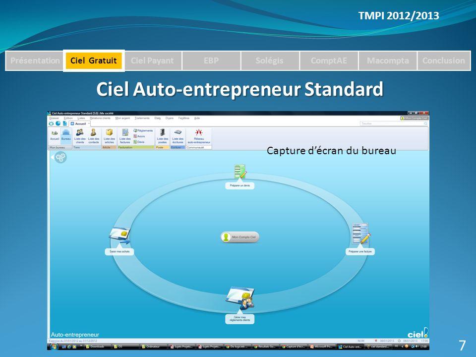 Ciel Auto-entrepreneur Standard