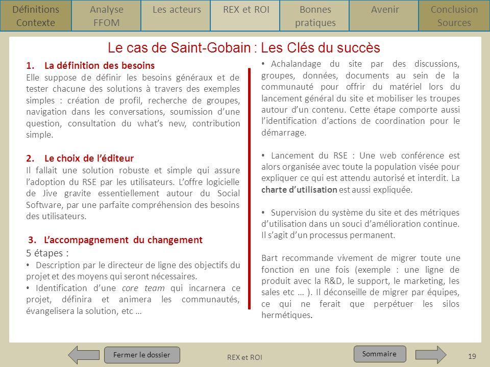 Le cas de Saint-Gobain : Les Clés du succès