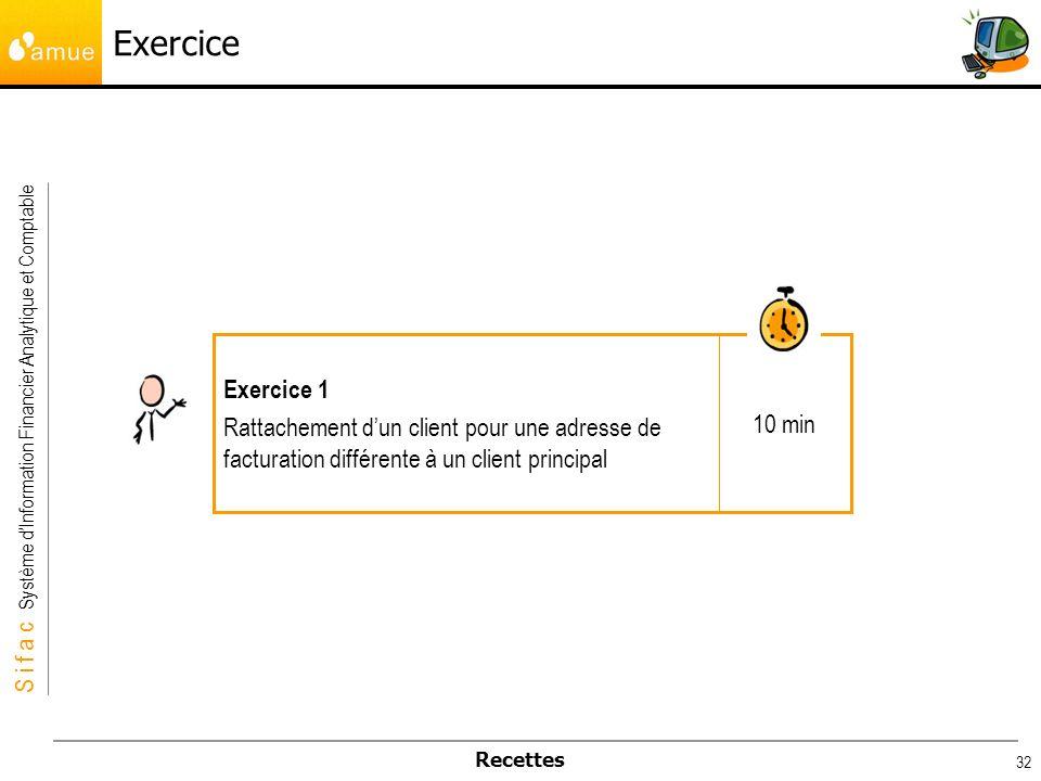 Exercice 10 min. Exercice 1.