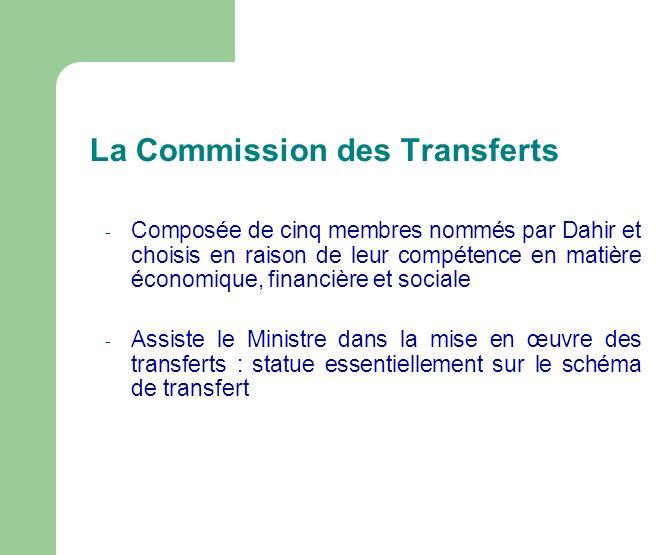 La Commission des Transferts