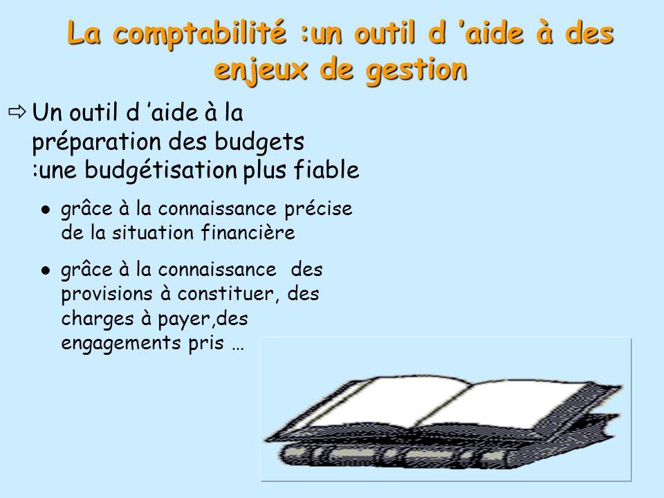 La comptabilité :un outil d 'aide à des enjeux de gestion