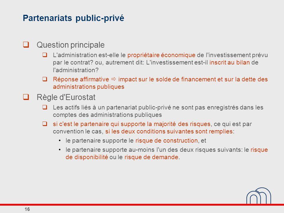 Partenariats public-privé