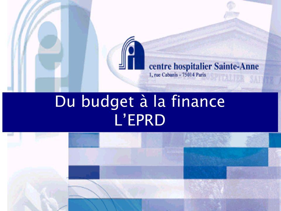 Du budget à la finance L'EPRD