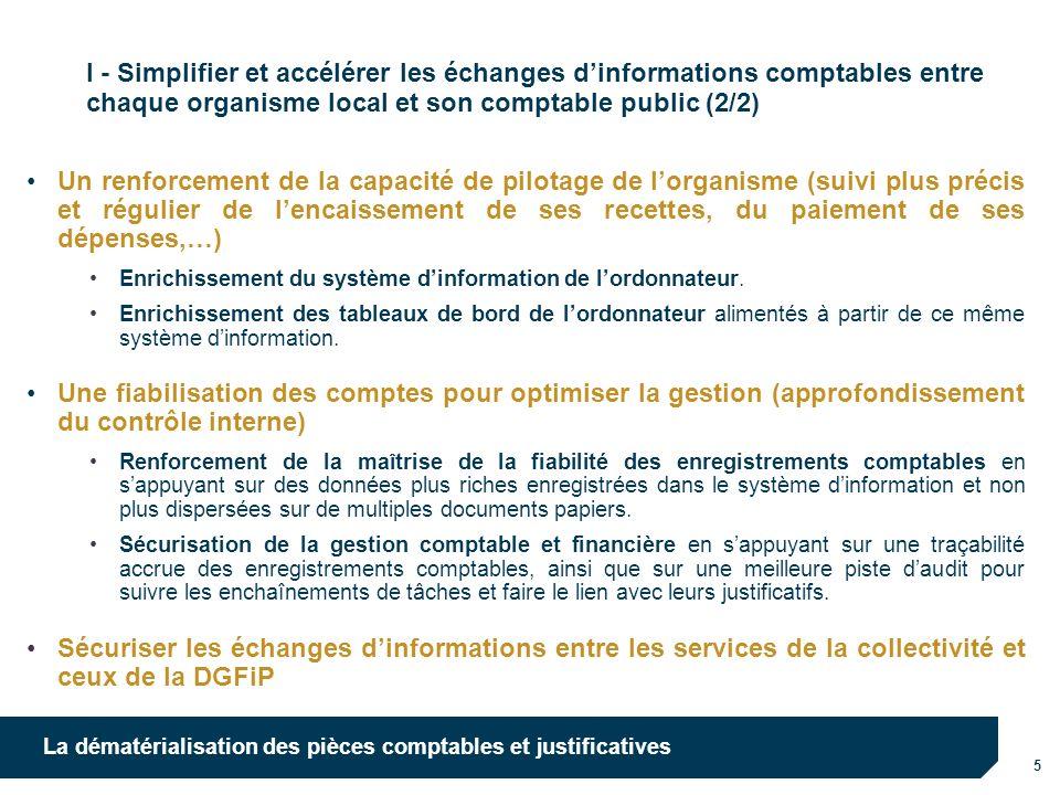 10/10/12 I - Simplifier et accélérer les échanges d'informations comptables entre chaque organisme local et son comptable public (2/2)