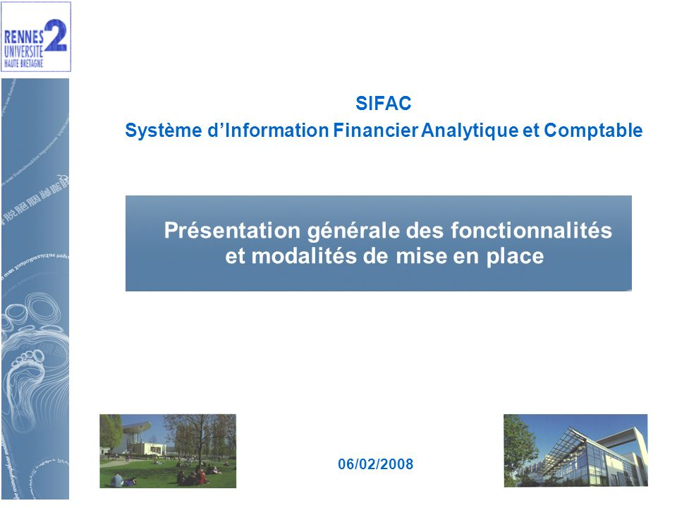Système d'Information Financier Analytique et Comptable