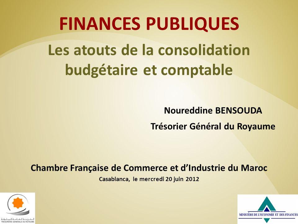 FINANCES PUBLIQUES Les atouts de la consolidation