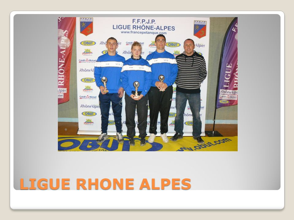 LIGUE RHONE ALPES