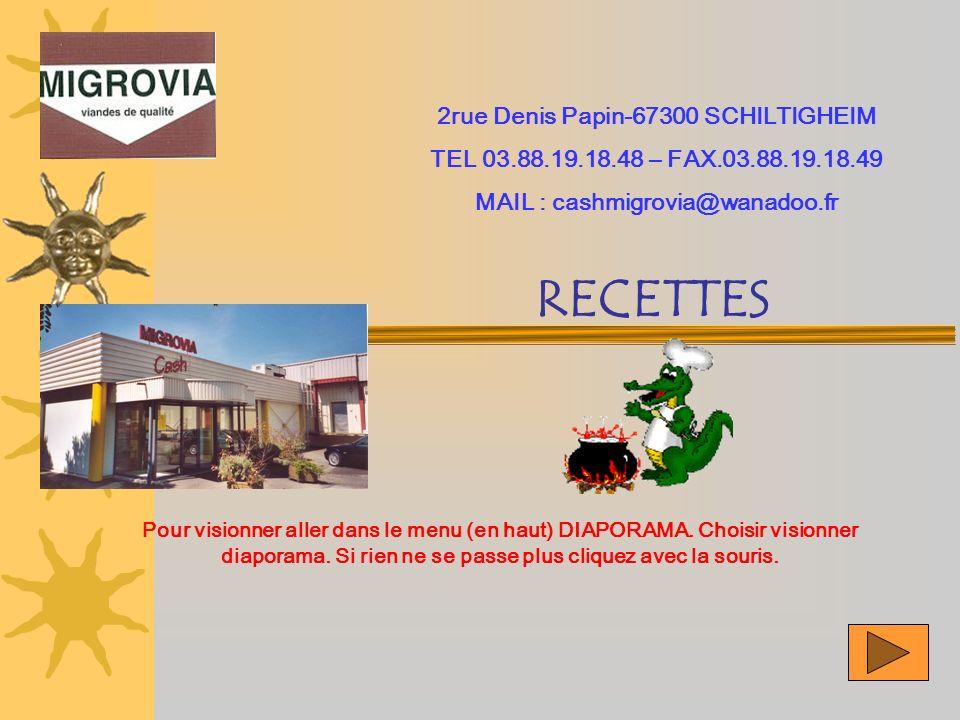 2rue Denis Papin-67300 SCHILTIGHEIM MAIL : cashmigrovia@wanadoo.fr