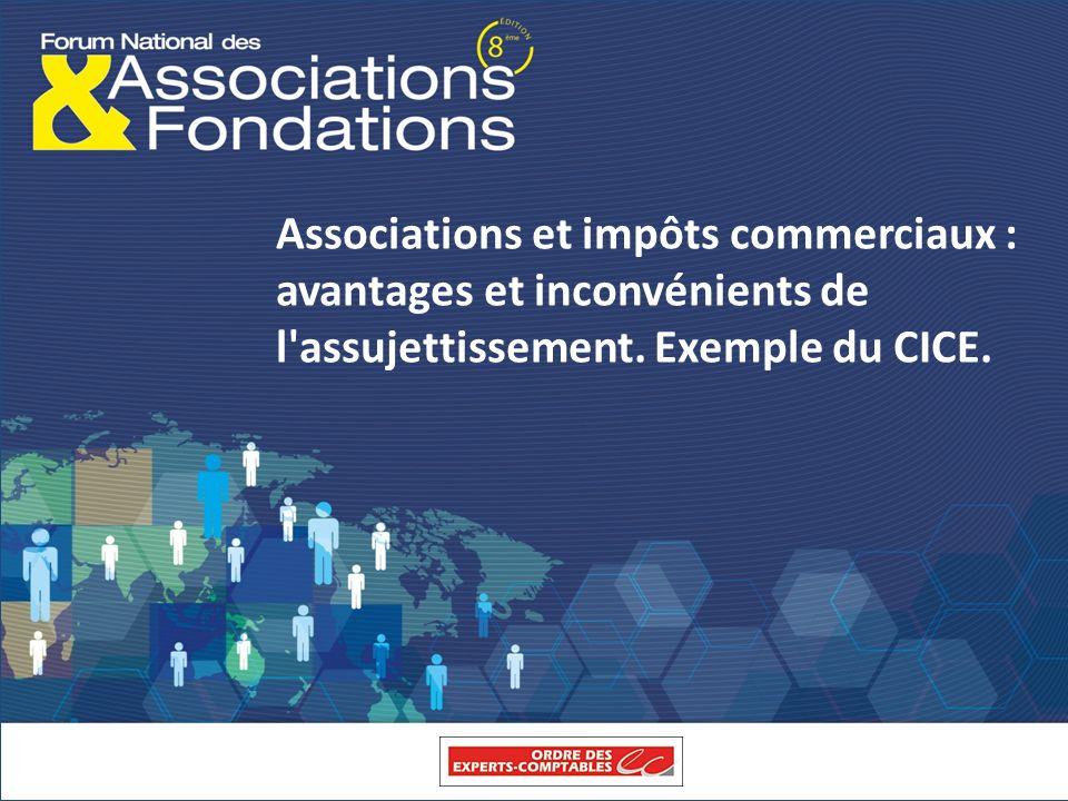 Associations et impôts commerciaux : avantages et inconvénients de l assujettissement.
