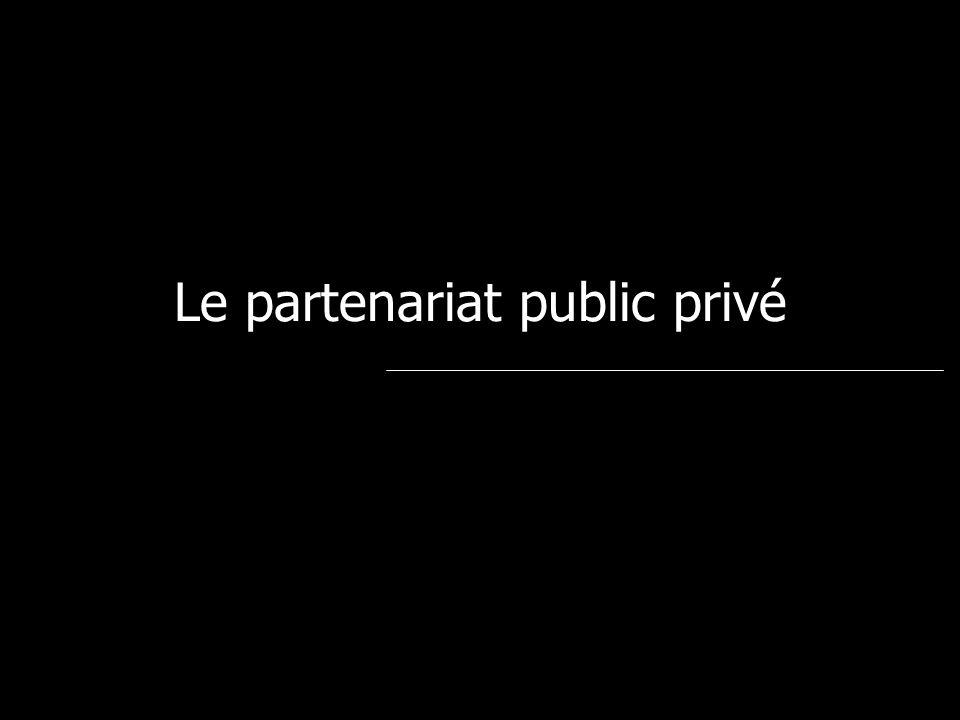 Le partenariat public privé