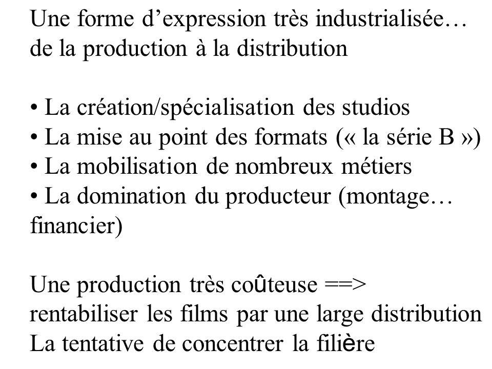 Une forme d'expression très industrialisée…