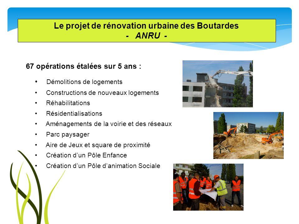 Le projet de rénovation urbaine des Boutardes