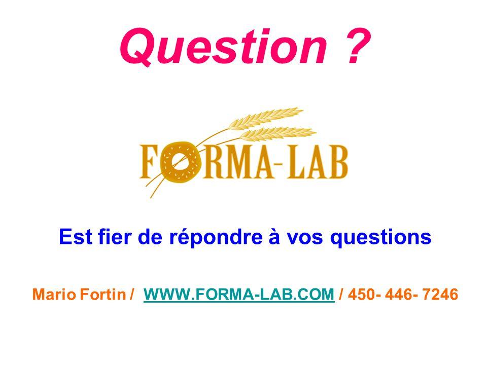 Question Est fier de répondre à vos questions