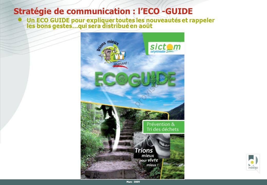 Stratégie de communication : l'ECO -GUIDE