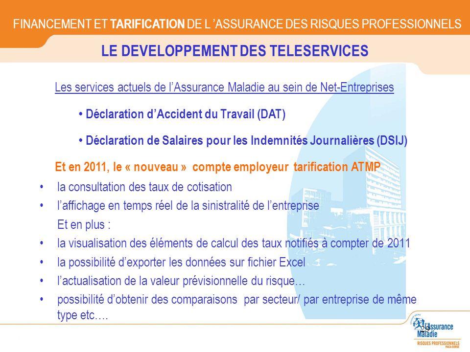 LE DEVELOPPEMENT DES TELESERVICES
