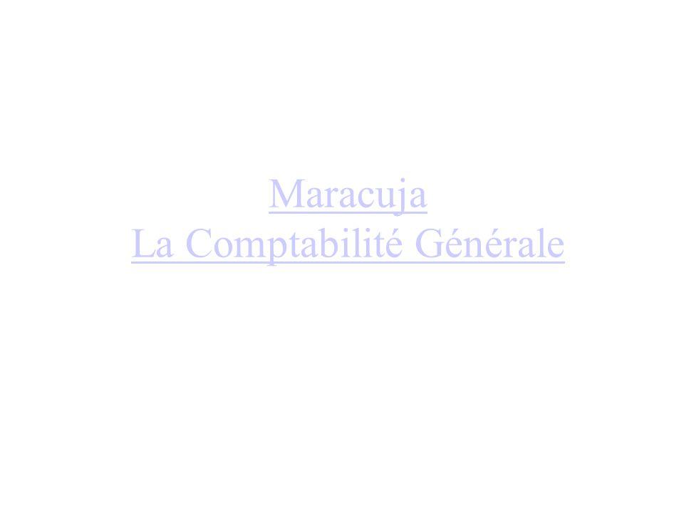 Maracuja La Comptabilité Générale