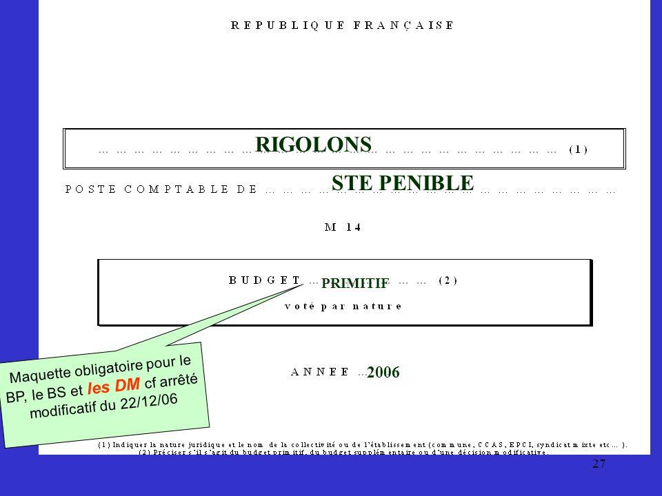 RIGOLONS STE PENIBLE 2006 PRIMITIF