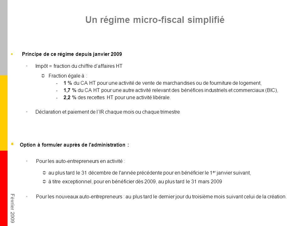 Un régime micro-fiscal simplifié