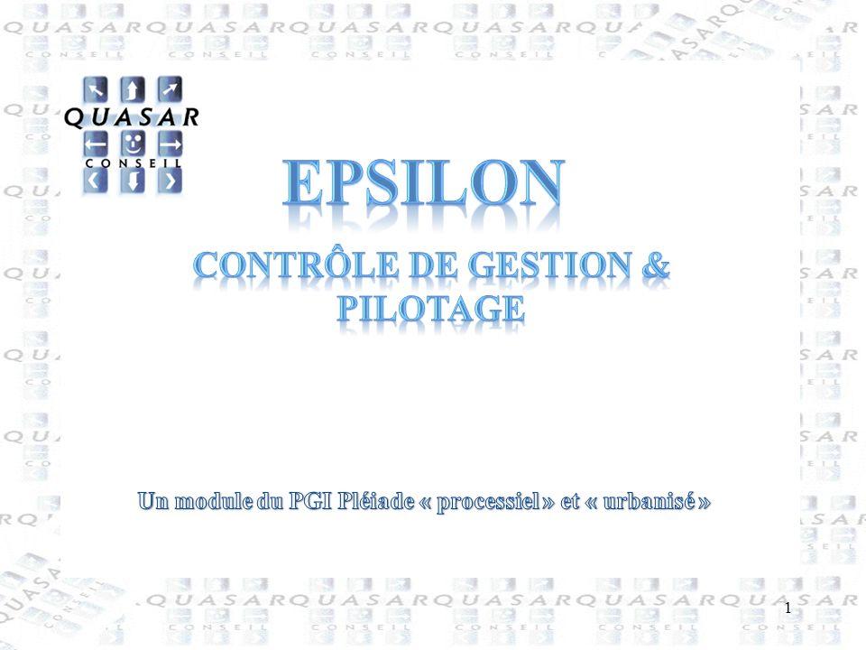 epsilon Contrôle de gestion & pilotage