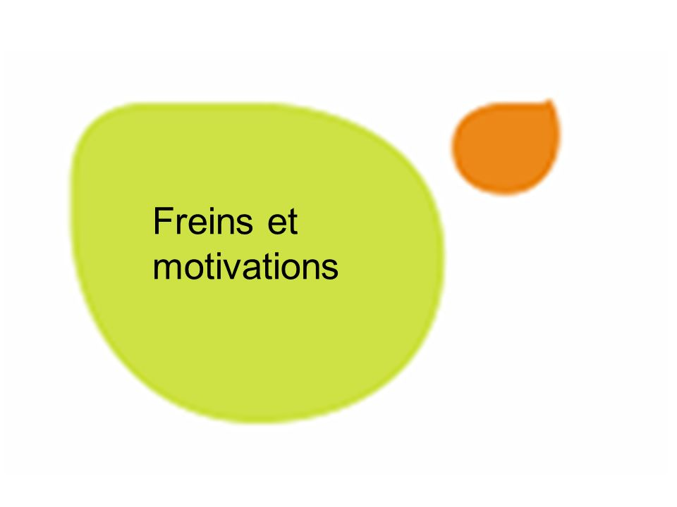 Freins et motivations