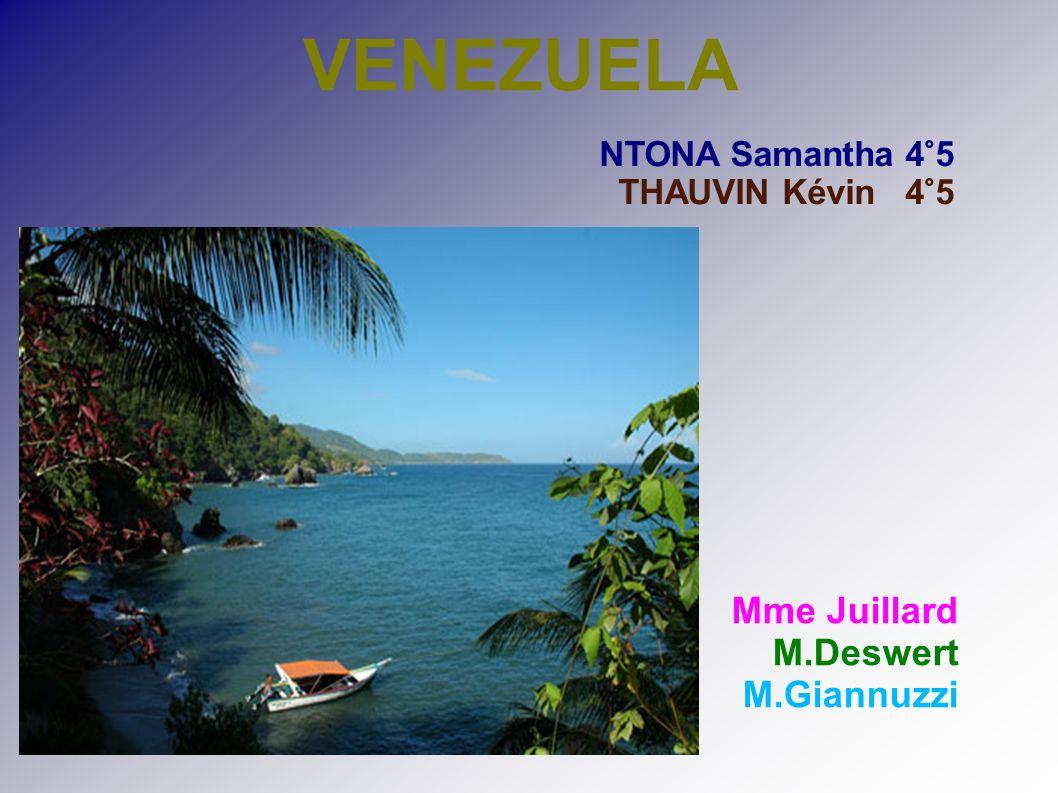 VENEZUELA Mme Juillard M.Deswert M.Giannuzzi NTONA Samantha 4°5