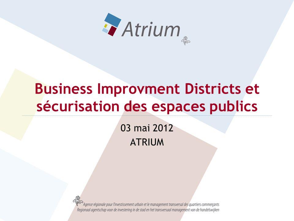 Business Improvment Districts et sécurisation des espaces publics