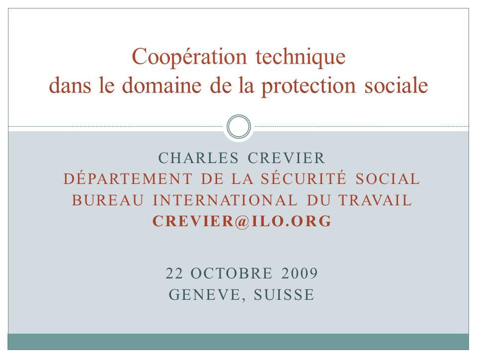 Coopération technique dans le domaine de la protection sociale