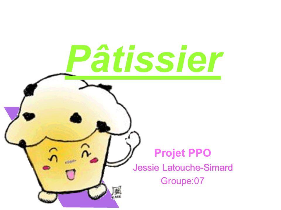 Projet PPO Jessie Latouche-Simard Groupe:07