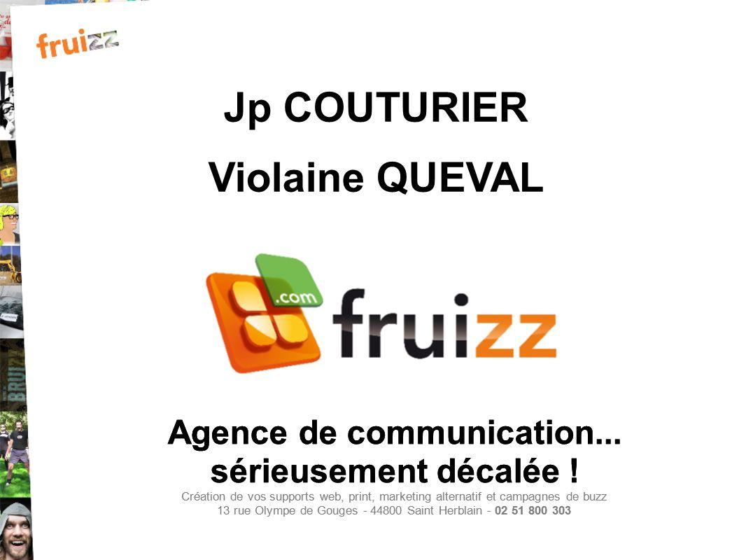Jp COUTURIER Violaine QUEVAL