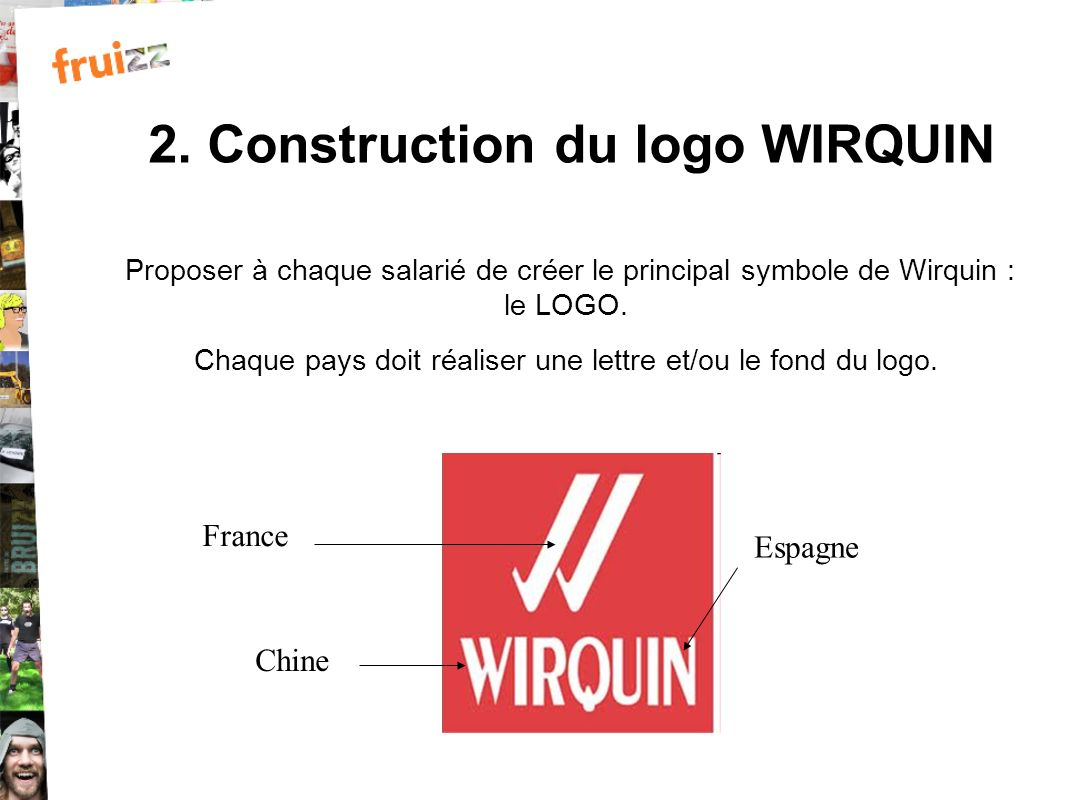 2. Construction du logo WIRQUIN
