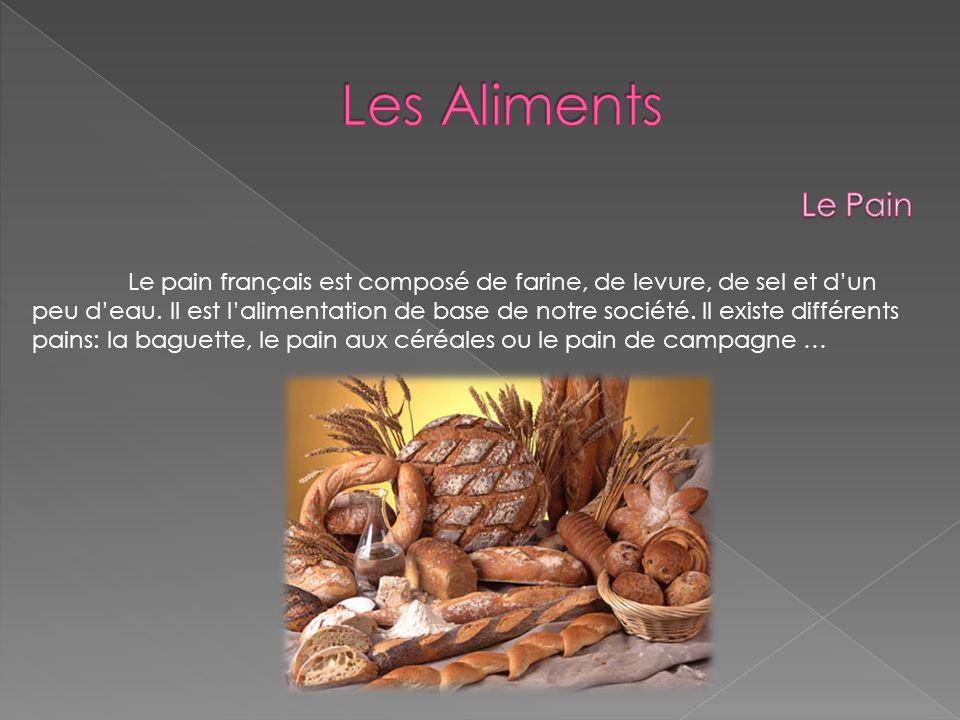 Les Aliments Le Pain.