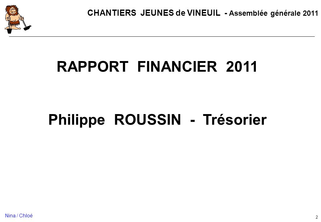 Philippe ROUSSIN - Trésorier