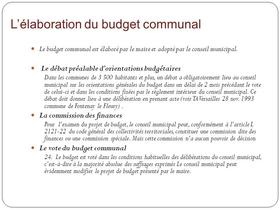 le budget communal notions de base ppt video online