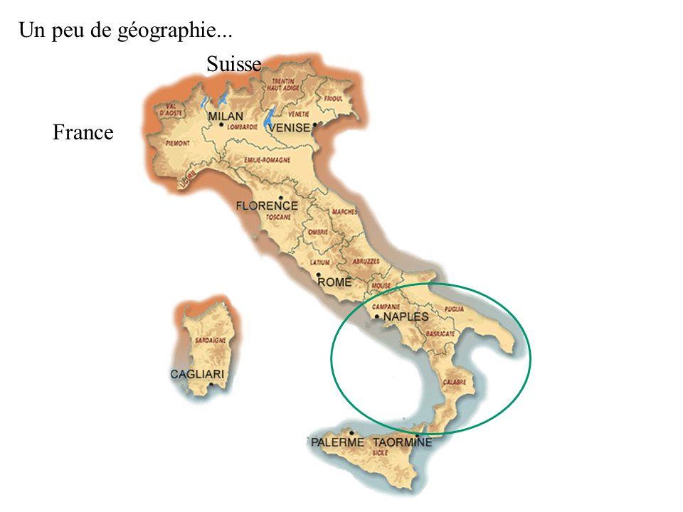 Un peu de géographie... Suisse France
