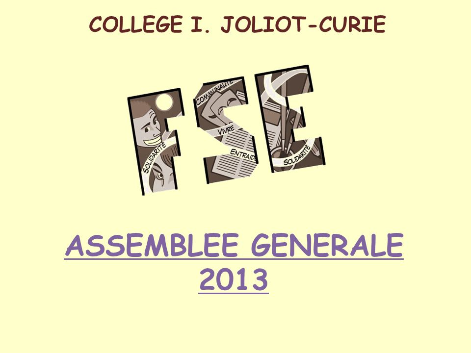 COLLEGE I. JOLIOT-CURIE