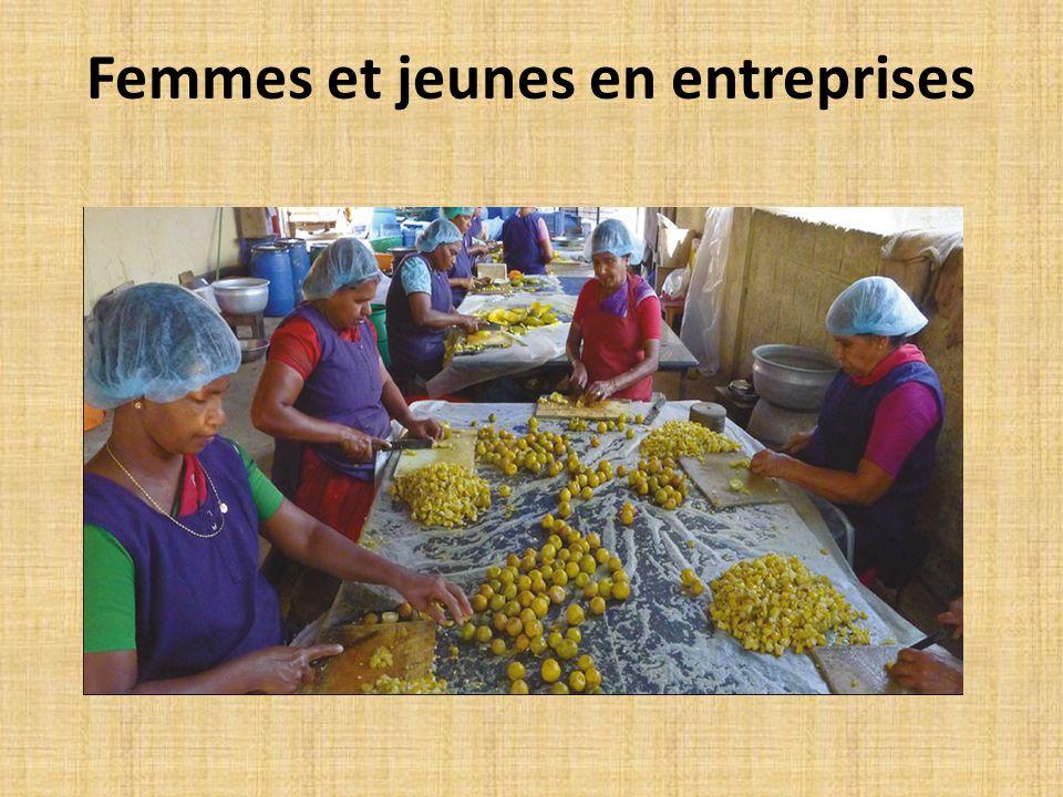 Femmes et jeunes en entreprises