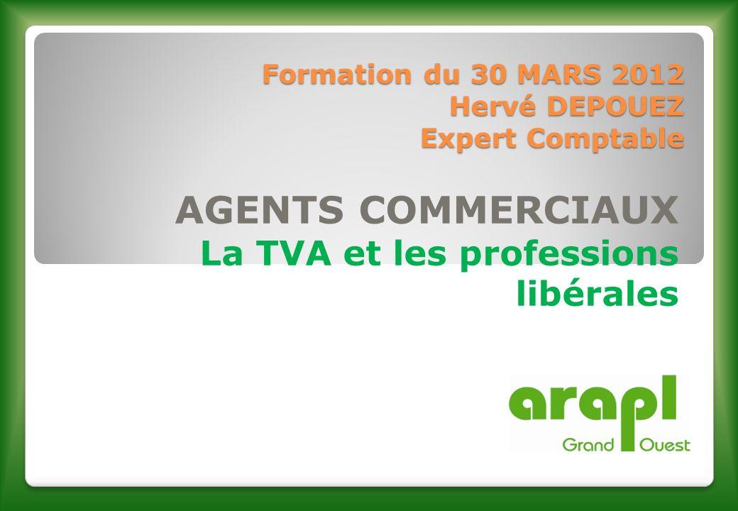 Formation du 30 MARS 2012 Hervé DEPOUEZ Expert Comptable