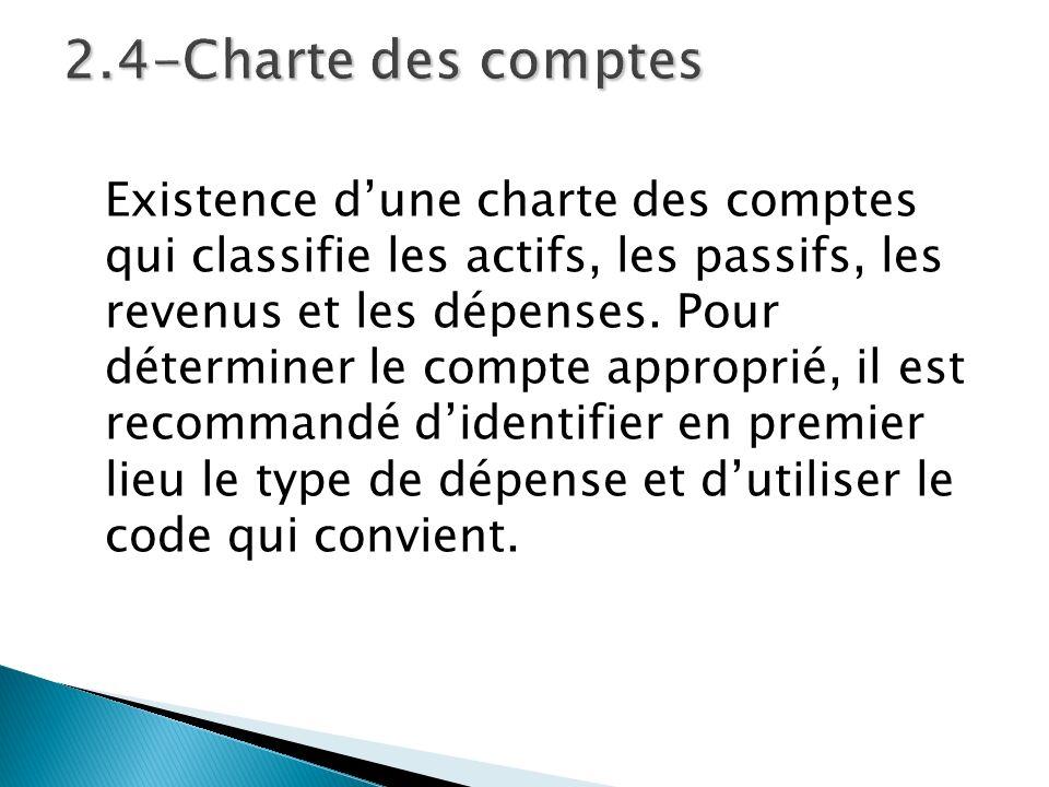2.4-Charte des comptes