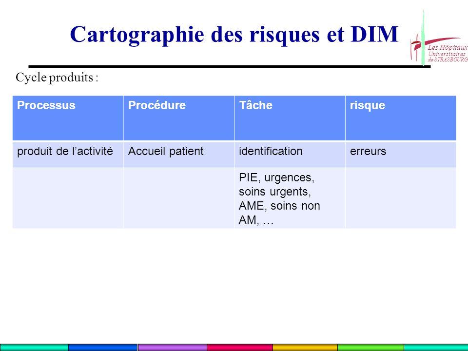 Cartographie des risques et DIM