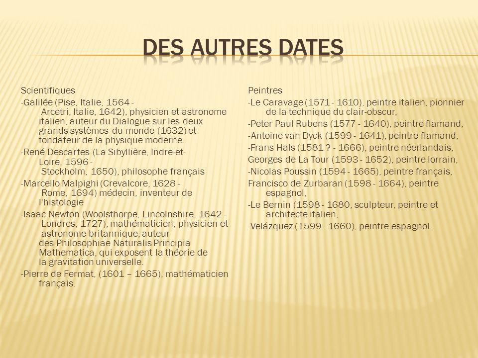 Des autres dates