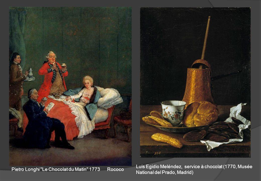 Luis Egidio Meléndez, service à chocolat (1770, Musée National del Prado, Madrid)