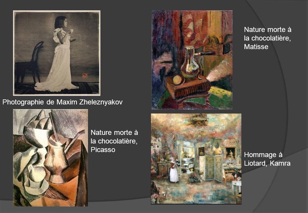 Nature morte à la chocolatière, Matisse