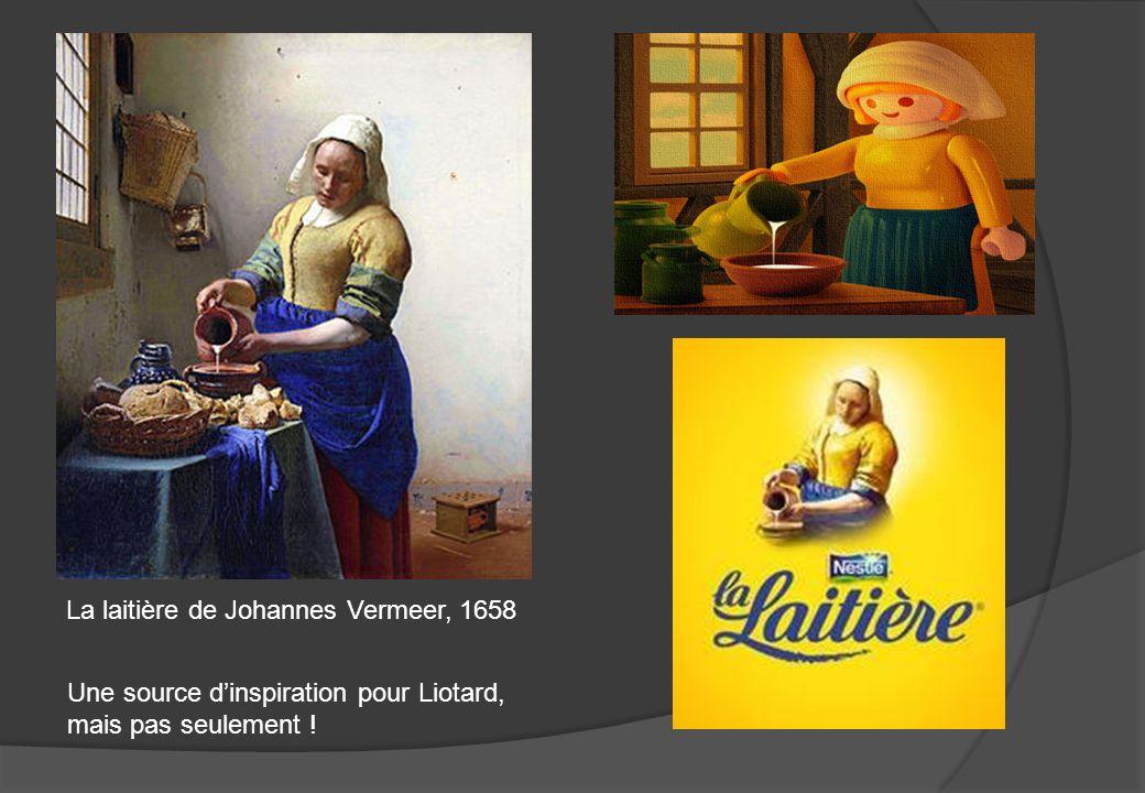 La laitière de Johannes Vermeer, 1658