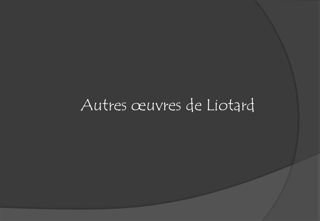 Autres œuvres de Liotard