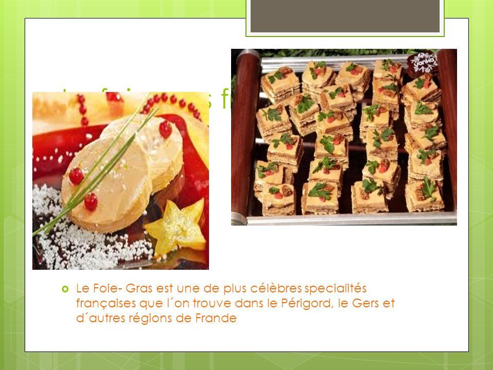 Le foie gras français